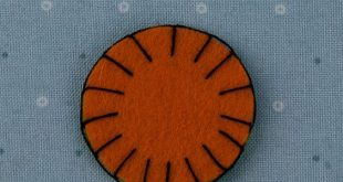 How To Sew Wool Felt - Blanket Stitch - Beginner Lesson 4