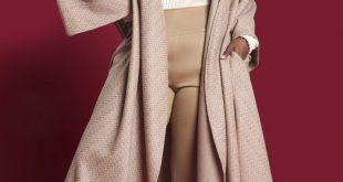 JIBRI Camel Textured Wool Blanket Jacket  JIBRI  2019  JIBRI Camel Textured Wool...