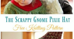 Kids Pixie Hat Free Knitting Patterns