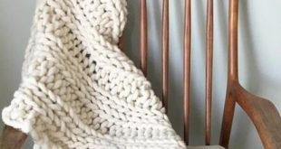 Knitting needles and wool chunky blanket 35 Ideas
