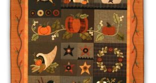 Last One! Autumn Quilt - Flannel Row of the Month or All at Once - Start Anytime! by Heart to Hand