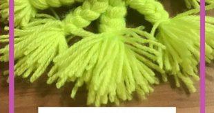 #MamaMausBasteln für Kinder - Wolle - Otto Oktopus