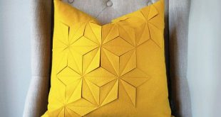 Materials and Measurements ----    * The front and back of the pillow is a golde...