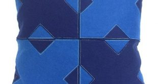 Moroccan Cross - Blue