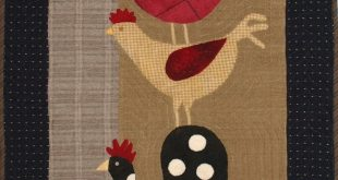 Primitive Wall Quilt PATTERN - Top of the Morning -GM