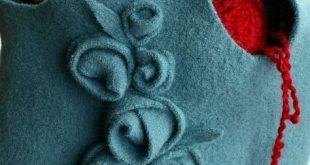 Re-purposing wool sweater Bag tutorial