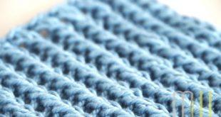 Spültücher stricken - #designhoch12 im Februar