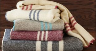 Striped Wool Blanket