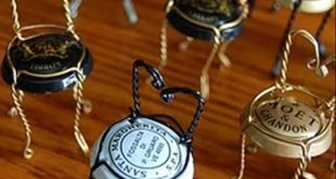 Stühlchen für den Feengarten aus Champagner-Käfigen Champagne Cages for doll