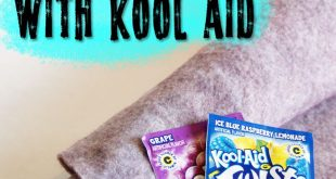 Tutorial: Dye Wool Felt With Kool-Aid | Muse of the Morning Crafty Kits, Wool Fe...