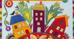 Wild Wool & Colorful Cotton Quilts Book
