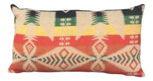 Wool Blanket Lumbar Pillow