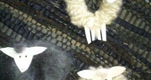 simple sheep craft Imbolc marque le début de l'année agricole avec l'a...